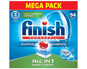 best finish all in 1 automatic dishwasher detergent