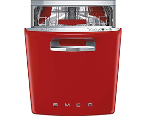 best smeg 50s retro style high end dishwasher