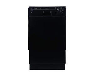 best edgestar bidw1801bl 18 inch dishwasher