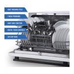 Farberware FCD06ASWWHC Countertop Dishwasher