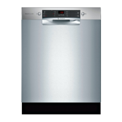 """Bosch SGE68X55UC 800 Series 24"""" Front Control Built-In Dishwasher"""
