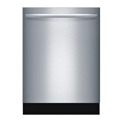 """Bosch SGX68U55UC 800 Series 24"""" Hidden Control Built-In Dishwasher"""