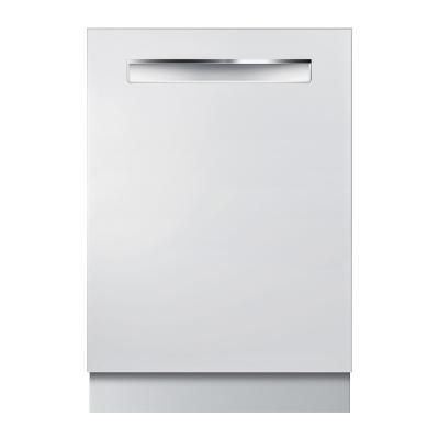 """Bosch SHPM65W52N 500 Series 24"""" Pocket Handle Dishwasher"""
