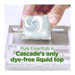 Cascade Pure Essentials Dishwasher Soap Pods