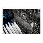 Maytag MDB8989SHZ interior rack and basket with adjustable tines