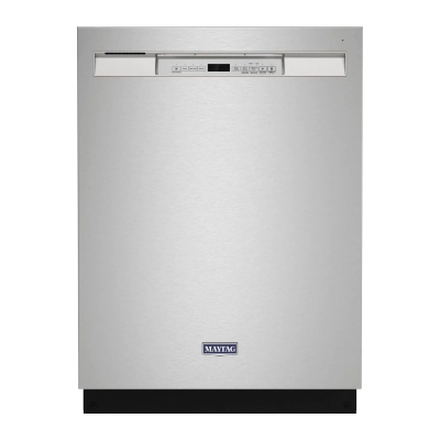 "Maytag MDB4949SKZ 24"" Front Control Built-In Dishwasher"